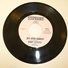GARAGE BAND 45 RPM RECORD - BOBBY LOVELESS & NITEOWLS - STEPHANIE 943