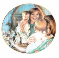 Kathy Lawrence Young Innocence Collector Plate Look At You LE Danbury Mint
