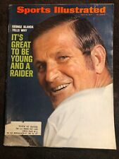 Sports Illustrated July 19 1971 George Blanda Oakland Raiders