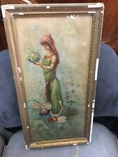 peinture tableau néo classique huile école Italienne époque XIX ème & cadre