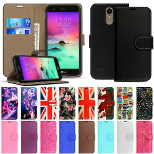 Luxury Flip Leather Wallet Stand Magnetic Phone Case Cover For LG K8 k10 G5 G6