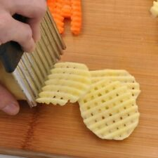 Potato Chips Cutter Kitchen Tool Slice Potatoes Stainless Steel Potatoes Slicer