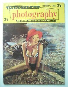 1968 FEB PRACTICAL PHOTOGRAPHY BRITISH HOW-TO-DO PHOTO MAGAZINE UNITED KINGDOM