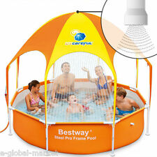 Children Swimming Pool Water Sprinkler Sun Canopy Sunroof Garden Child Fun Game
