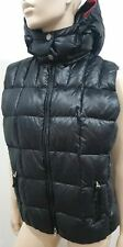 BOGNER FIRE & ICE Black Real Down Fill Quilted Sleeveless Gilet Jacket 42 US12