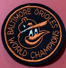 Vintage Baltimore Orioles World Champion Patch