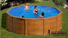 Schwimmbad Pool Stahlwandbecken Rundpool 4,60 m x 120 cm Schwimmbecken