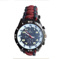 Paracord Watch with The 59 Commando Royal Engineer Colours a Great Gift