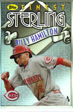 "2014  TOPPS    ""FINEST""   STERLING  #TS-BHA  BILLY HAMILTON"