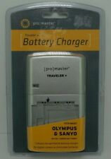Promaster Xtrapower Traveler + Battery Charger Olympus/Sanyo