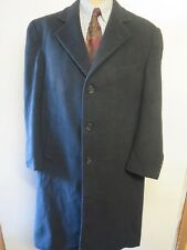 Ralph Lauren Wool/Cashmere Grey Trenchcoat Raincoat Coat Size XL 46 R Euro 56 R