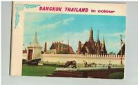 Bangkok Thailand in Colour 1960s Booklet Thai Boxing