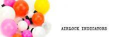 ECHO Strike Indicator im 5er Pack à 3 Indictors / Airlock 1,25''