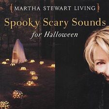 Martha Stewart Living - Spooky Scary Sounds For Halloween SEALED Rhino Promo CD