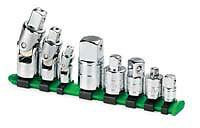 Sk Hand Tool  Llc 4518 8 Piece Chrome Universal Adapter Set