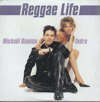 ★☆★ CD SINGLE INDRA & Damian Reggae life 2-track CARD SLEEVE NEW SEALED  ★☆★