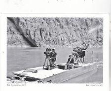 "*Postcard-""Flying Fish""(Airplane Engine-Propelled Flat Boat)*Boulder City (#118)"