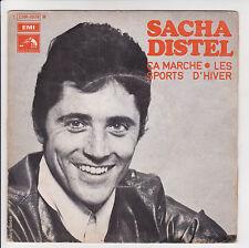 DISTEL Sacha 45T SP CA MARCHE - LES SPORTS D'HIVER -VOIX DE MAITRE 2C 006-10578