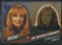 Quotable Star Trek TNG Starfleet's Finest Chase Card F6