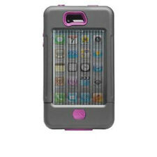 Case Mate Tank Case for iPhone 4 / 4S Cool Grey / Raspberry