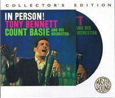 Bennett, tony en personne master sound Gold CD sbm with slipcase