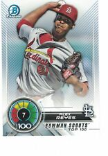 2018 Bowman Scouts' Top 100 5x7 /49 #7 Alex Reyes St. Louis Cardinals