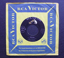 """7"""" Della Reese - And Now  - US RCA"""