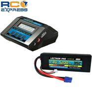 Common Sense RC-ACDC-10A Charger + 1 x 7.4V 5200mah 35C w/ EC3 Connect-CMSPP-003