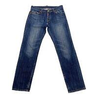 Dsquared2 Straight Jeans   Vintage High End Luxury Designer Denim Blue IT 52 VTG