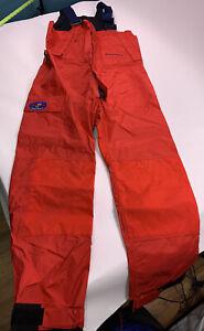 West Marine Explorer Foul Weather Bib Size Medium Waterproof Neoprene Pants