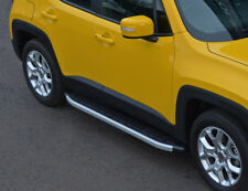 Aluminium Side Steps Bars Running Boards To Fit Jeep Renegade (2015+)