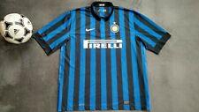 INTER MILAN Internazionale 2011-2012 NIKE HOME FOOTBALL SOCCER SHIRT JERSEY 2XL