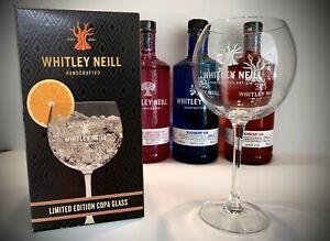 2 x Whitney Neil Neill COPA Gin Glasses NEW GIFT BIRTHDAY