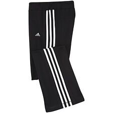 Adidas Track Suit Bottoms Black Climacool Jazz Track Pants Girls  Age 13-14