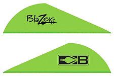 """NEW! Bohning Blazer Vanes 2"""" 36-Pack - Neon Green 10831-NG 10831NG2"""