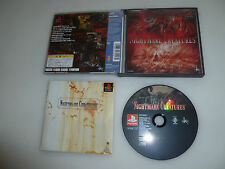 JAPAN IMPORT GAME PLAYSTATION NIGHTMARE CREATURES W CASE & MANUAL