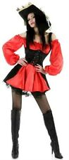 Sexy Pirate Womens Ladies Fancy Dress Outfit Costume Size 12-14 P5851