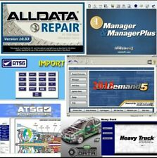 4 in 1 Auto Repair Software Bundle Cars 1Tb Ext. Hard Disk Drive