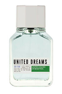 United Dreams Go Far for Men by Benetton Eau de Toilette Spray 100ml