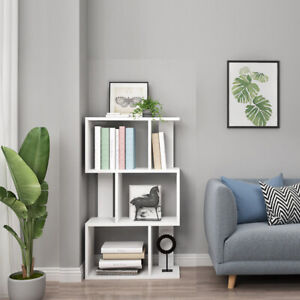 Wooden Cube Bookshelf Rack Bookcase Shelving Storage Display Book Shelves Unit