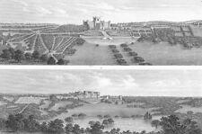 LANDSCAPES. Landscape Gardening 1849 old antique vintage print picture