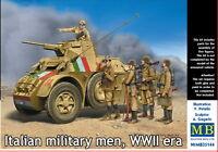 Master Box — Italian military men — Plastic model kit 1:35 Scale #35144