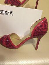 Andrew Stevens Women's 'Benedetta' Open Toe Heels SIZE 8 M