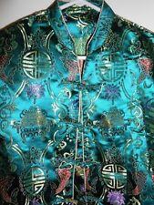 Women's Beautiful Deep Colors Brocade Kimono Jacket Top Size Medium