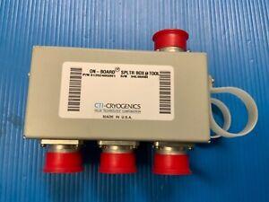 8135240G001; CTI-CRYOGENICS ON-BOARD SPLITTER BOX