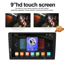 9 inch 2DIN Car MP5 Player Bluetooth Touch Screen Stereo Radio For Apple Android