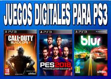 Juegos ps3 store española (entrega enmediata) eliga su juego