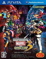 PS Vita Ultimate Marvel vs. Capcom 3 Japan Import Game Japanese