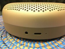 New listing Bang & Olufsen, B&O BeoPlay A1 bluetooth speaker, power cord and manual.Mint