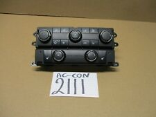 09 10 11 Volkswagen Routan AC and Heater Control Used Stock #2111-AC